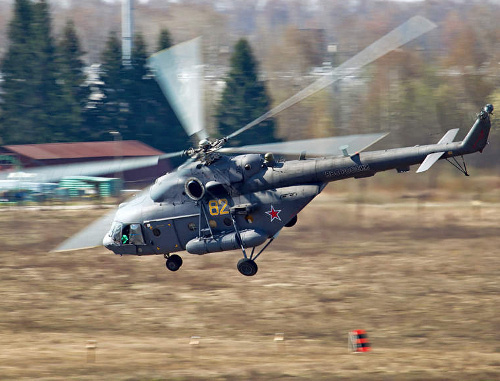 Вертолет МИ-8. Фото: Alex Beltyukov, http://www.airliners.net/photo/Russia---Air/Mil-Mi-8MTV-5/2106399/L