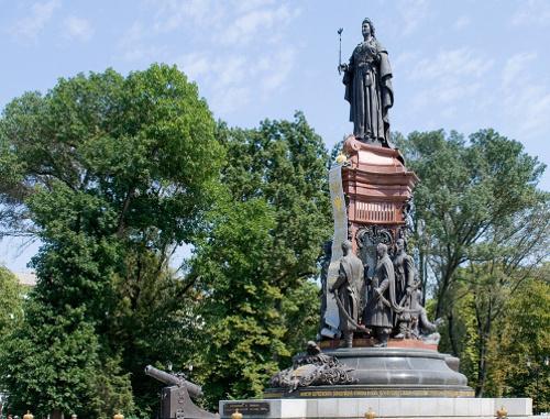 Доклад о памятнике екатерины 2 в краснодаре волгоград памятники названия