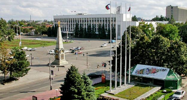 Здание городской думы. Краснодар. Фото: Lite https://ru.wikipedia.org/