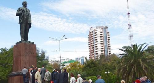 ВМурманске прошел митинг вчесть годовщины Октябрьской революции