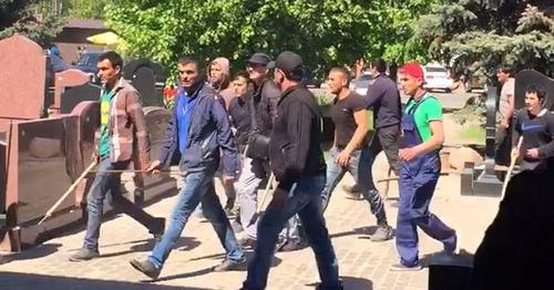 Суд продлил арест 14 участникам драки наХованском кладбище