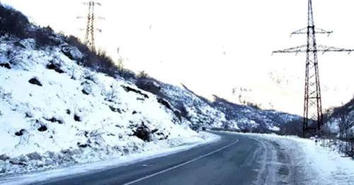 Перевал Варденяц в Армении закрыт, на автодороге Сотк-Карвачар – гололед