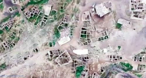 Вид заброшенной деревни сверху. Фото: Стоп-кадр трейлера документального фильма