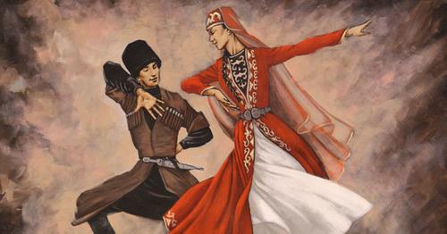 """Выставка картин черкесского художника Фарука Кутлу. Стамбул, 19 марта 2017 г. Фото Магомеда Туаева для """"Кавказского узла"""""""