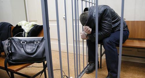 Тамерлан Эстерханов в зале суа. Фото Максима Шеметова, REUTERS
