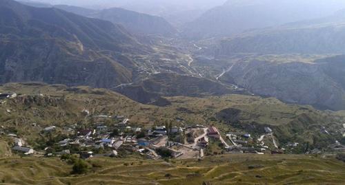 Село в Левашинском районе Дагестана. Фото  Шахбан Курбанов