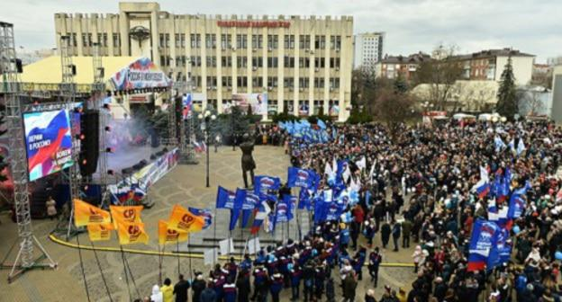 Акция 3 февраля в Краснодаре. Фото пресс-службы администрации Краснодарского края.