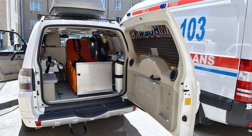 Три человека пострадали при взрыве в Азербайджане