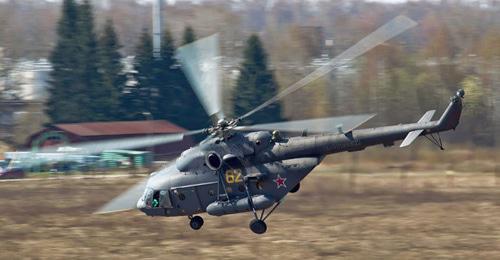 Вертолет Ми-8. Фото: Alex Beltyukov (RFE/RL)