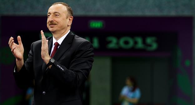 Правящая партия Азербайджана объявила опобеде Алиева навыборах