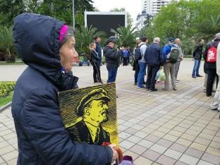 Участники митинга в Сочи потребовали вернуть выборы мэра