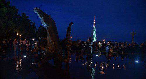 Жители Абхазии вспомнили жертв Кавказской войны
