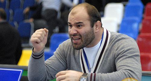 Сажид Сажидов. Фото  Магомеда Хазамова http://wrestdag.ru/users/118/