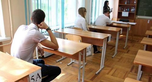 Во время экзамена. Фото: Валентина Мищенко / Югополис