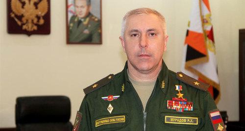 Мурадов Рустам Усманович. Фото Пресс-служба Центрального военного округа