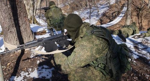 Более трех тысяч российских военных приняли участие в учениях в Абхазии