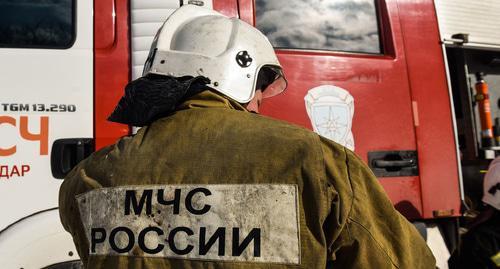 Кавказский Узел   Люди эвакуированы из-за пожара в сочинском ... a796a548716