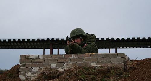 Около тысячи солдат приняли участие в учениях в горах Абхазии