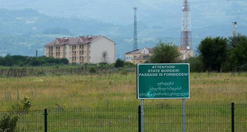 Власти Грузии потребовали расследовать смерть человека на границе с Абхазией