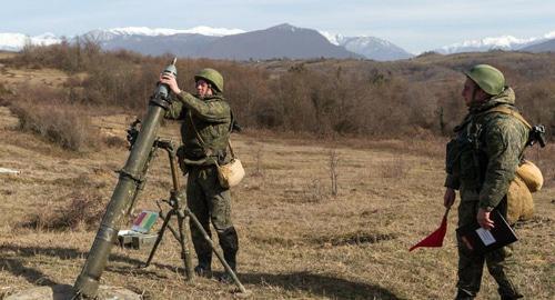 Учения российских военных прошли в Абхазии