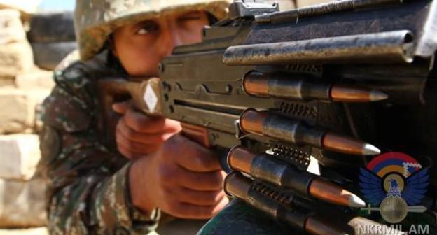 нагорный карабах обвинил азербайджан в 120 обстрелах за неделю