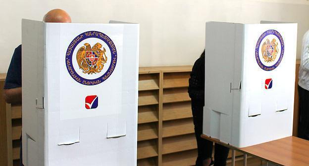 В Армении началось голосование на местных выборах