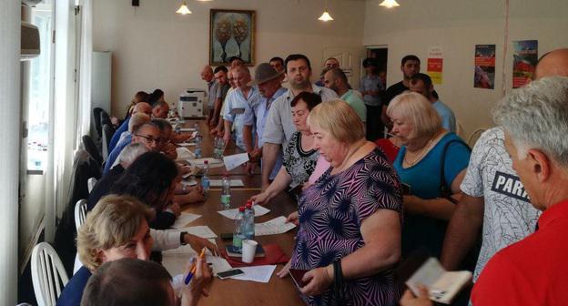 Наблюдатели во Владикавказе констатировали энтузиазм к выборам в парламент Южной Осетии
