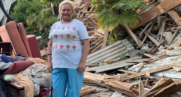 Рабочие разрушили дом семьи Чуриковых