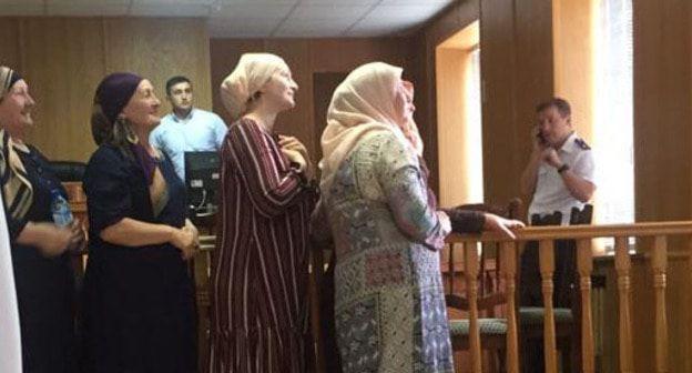 Черкесские активистки призвали высвободить Зарифу Саутиеву