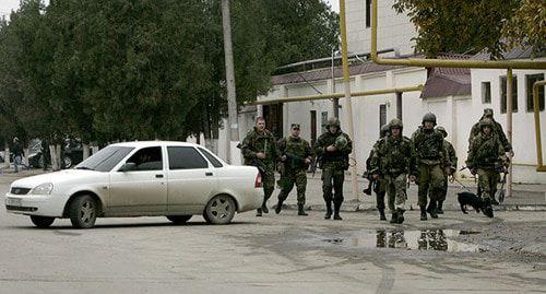 Special operation. Photo: REUTERS/Alkhan Gargayev