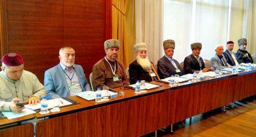 Участники заседания Всемирного вайнахского конгресса. Стамбул, 29 сентября 2019 года. Фото Руслана Плиева.
