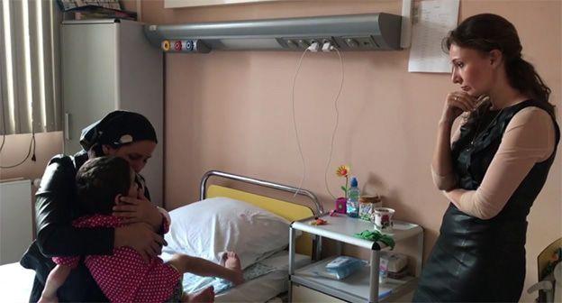 Мать избитой в Ингушетии девченки стала ее легитимным представителем