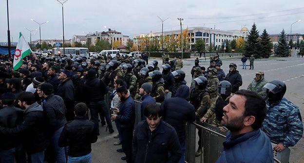 Осужден соучастник митинга в Магасе Сейт-Магомед Нальгиев