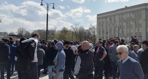 Masový protest v Rusku proti  sebaizolácii