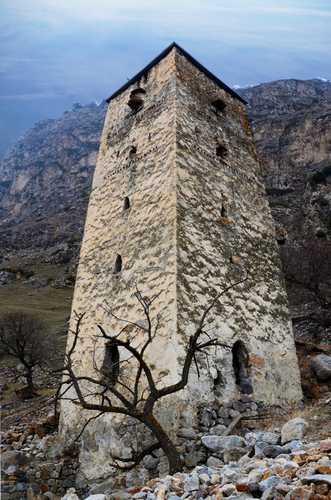 Башня Абаевых. Фото предоставлено Тенгизом Мокаевым