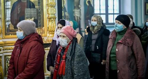 Православные Юга России отмечают Сочельник в условиях пандемии