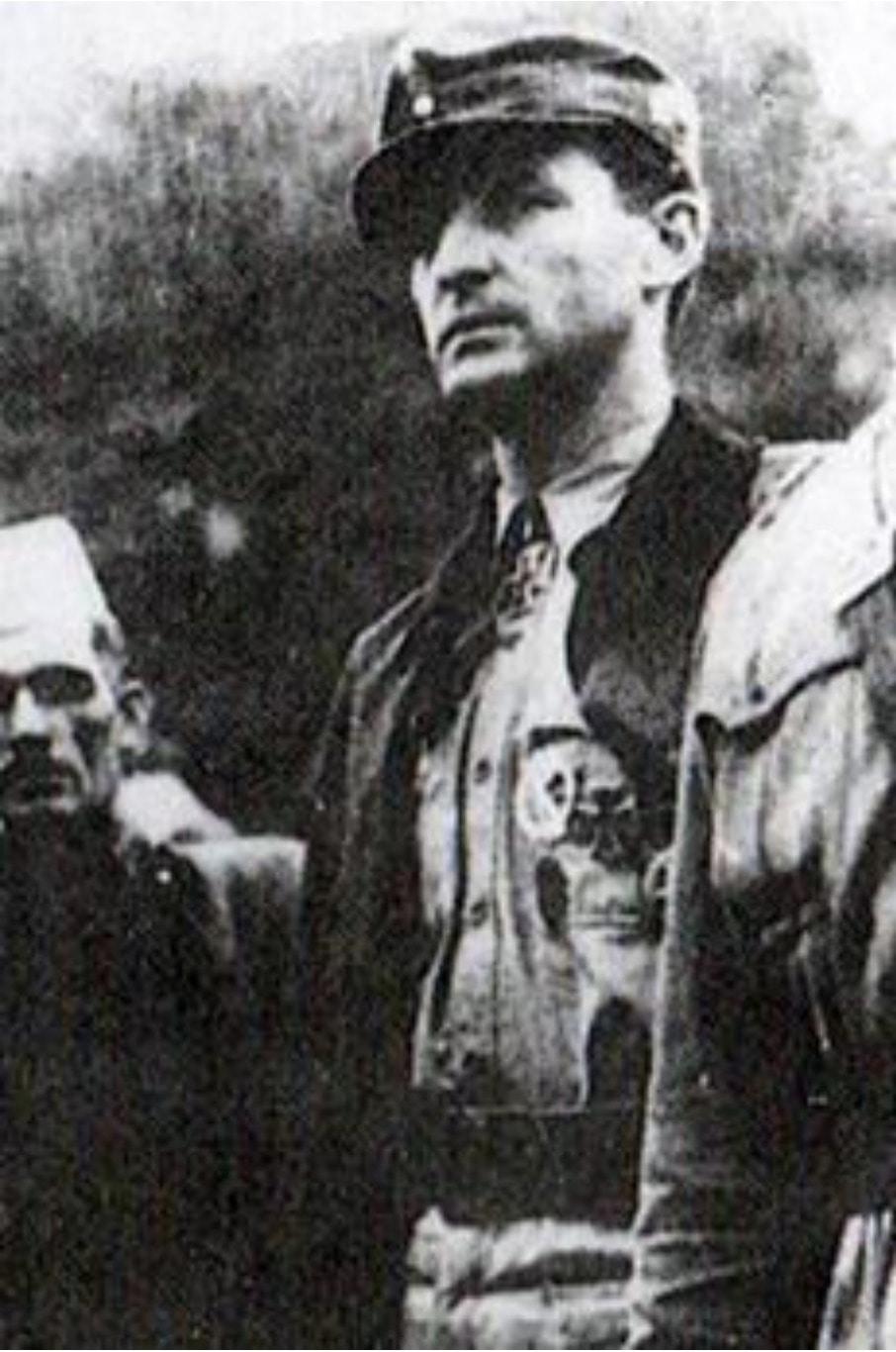 Эрхард Ланге в Югославии (после операции Шамиль). Предоставил Питер Ван Хуис.