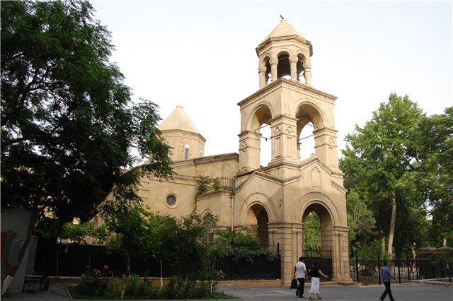 Картинки по запросу В Азербайджане хранится армянская церковь.