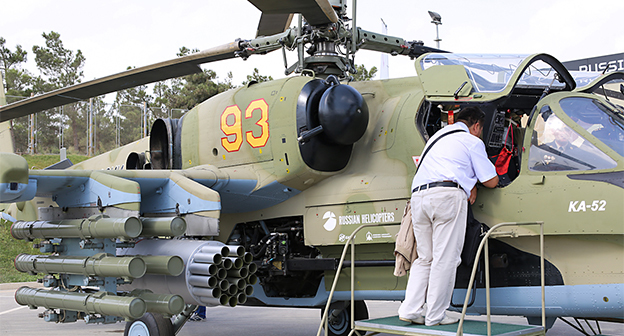 Full russian helicopter   ka52  2